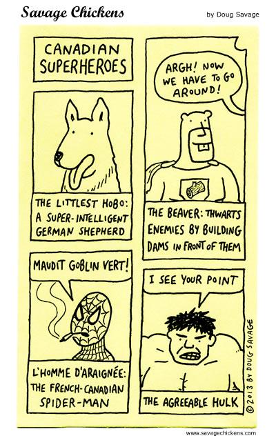 Canadian Superheroes