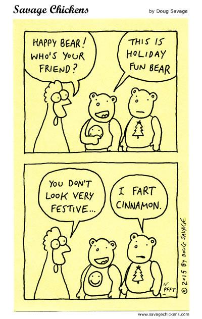 Holiday Fun Bear