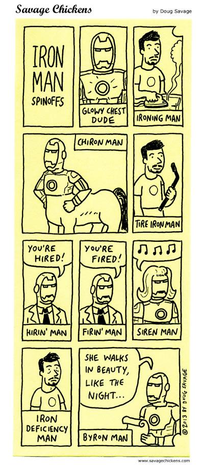 Beyond Iron Man