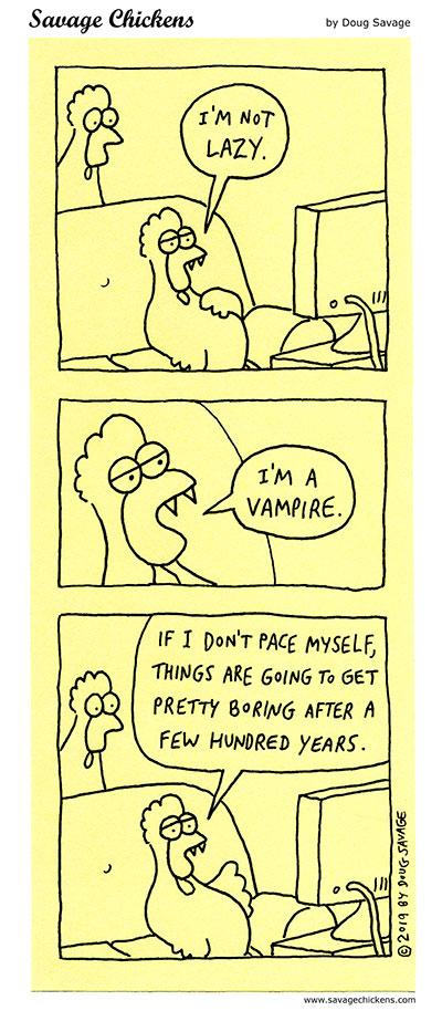 Lazy Vampire