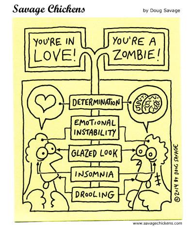 Love/Zombie