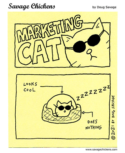 Marketing Cat