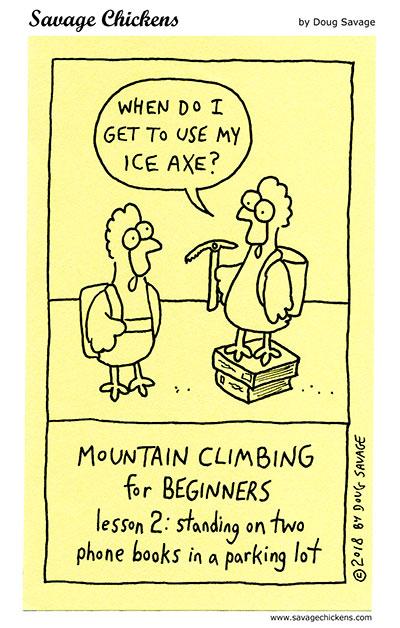 Mountain Climbing 2