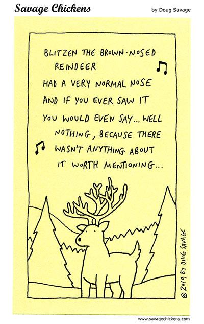 No Songs for Blitzen