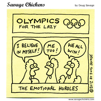 Olympics for the Lazy 2