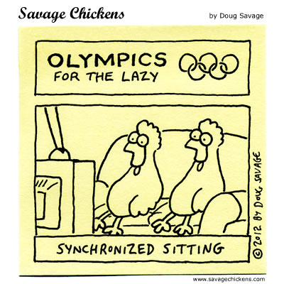 Olympics for the Lazy 3