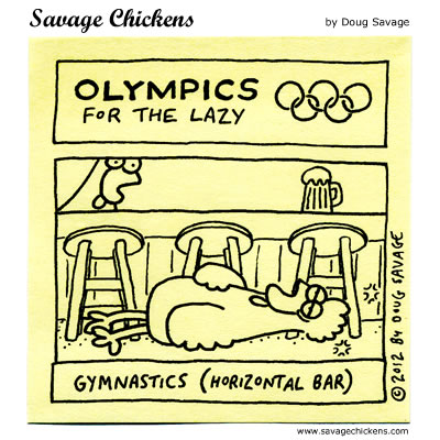 Olympics for the Lazy 4