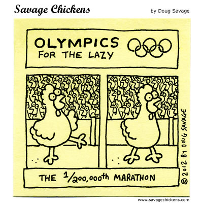 Olympics for the Lazy 5