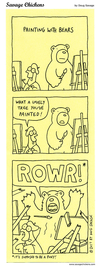 Painting With Bears