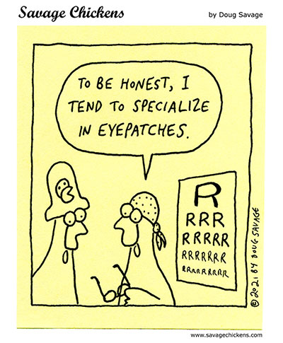Pirate Optometrist