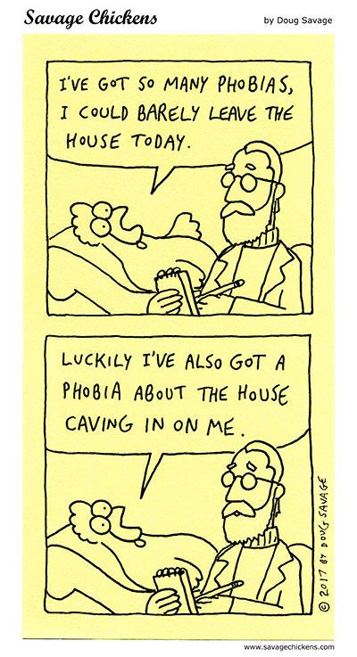 So Many Phobias