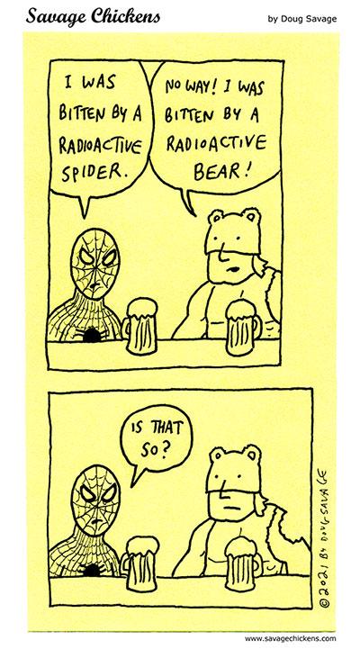 Spider-Man & Bear-Man