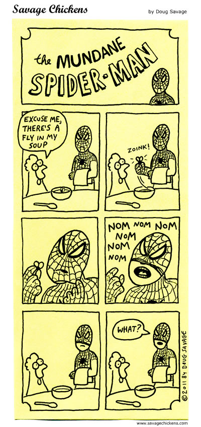 The Mundane Spider-Man