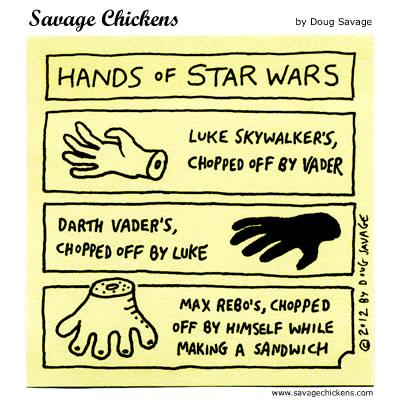 Hands of Star Wars