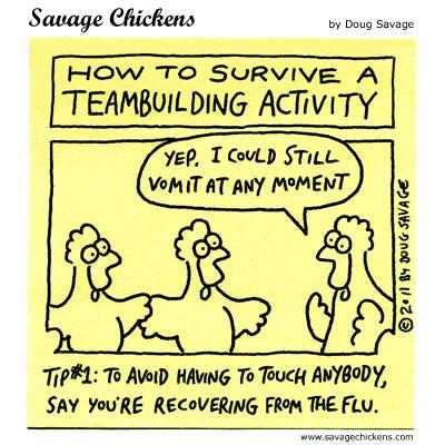 Teambuilding Tip