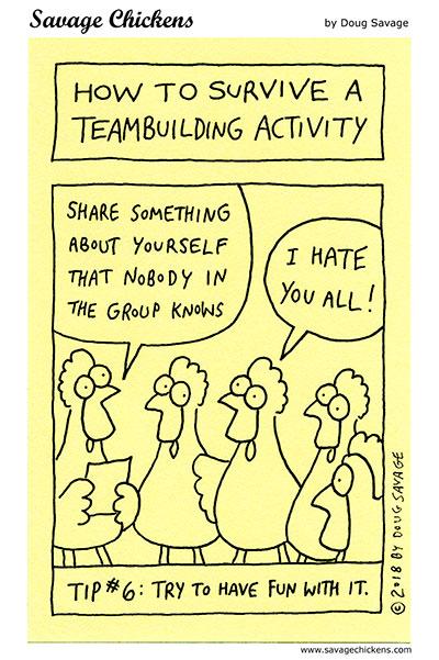 Teambuilding Tip 6