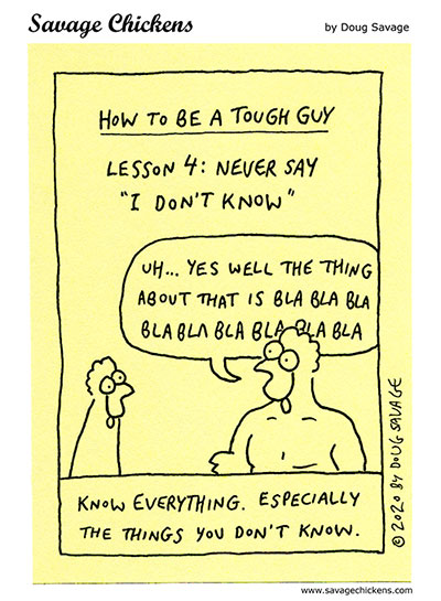 How To Be A Tough Guy 4