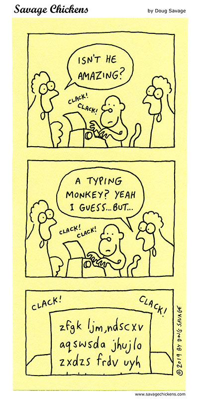The Amazing Typing Monkey