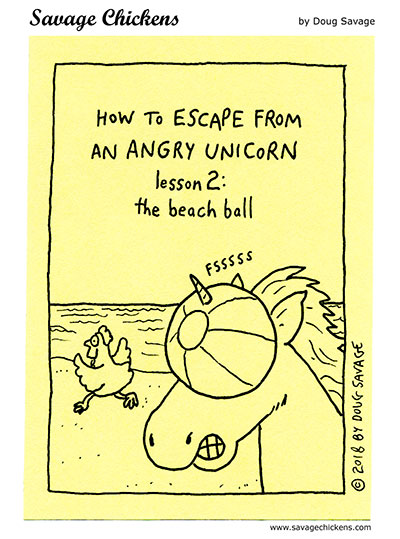 Escape from an Angry Unicorn 2