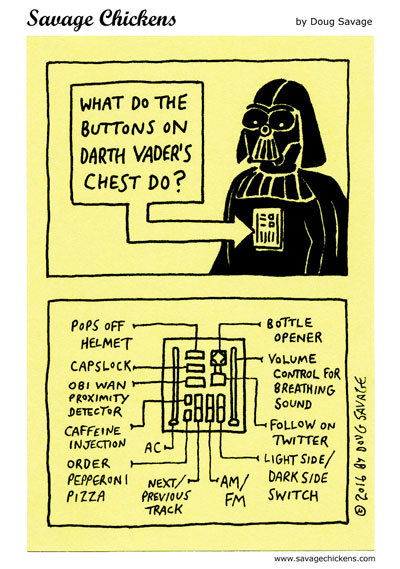 Vader Buttons