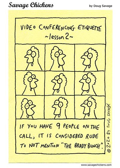 Video Conferencing Etiquette 2