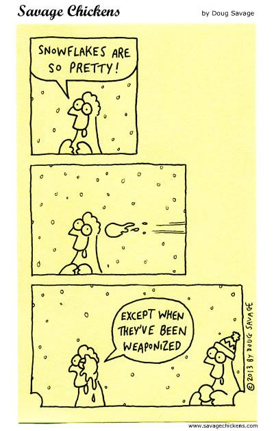 Pretty Snowflakes