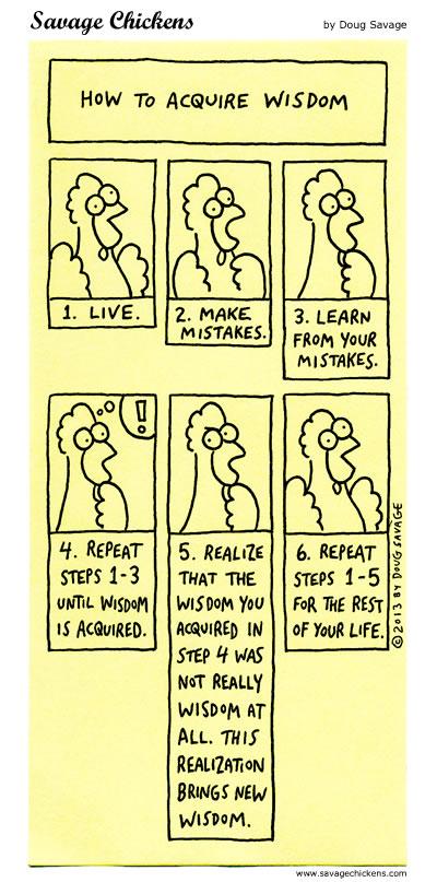 How To Acquire Wisdom