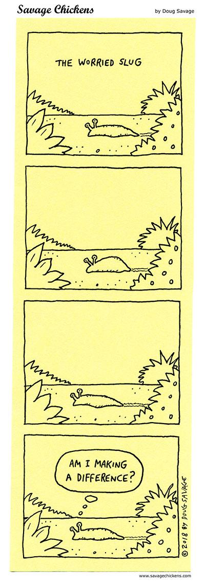 The Worried Slug 2