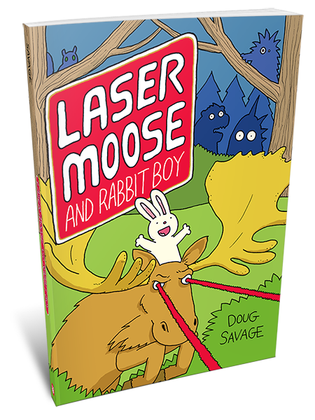 Laser Moose and Rabbit Boy