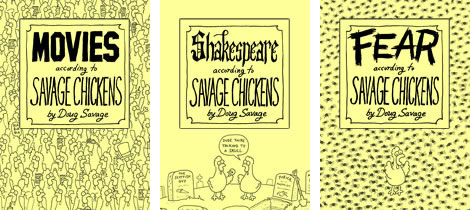New Savage Chickens E-Books!